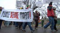 Fracking demo