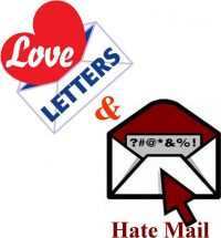 Love Letters & Hate Mail