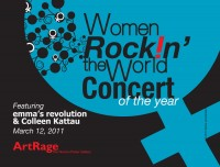 IWD Concert Postcard Front