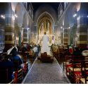 Sung Eucharist Service, All Saints Church, Rome, Italy. By Robert Knight