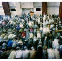 Jummah Prayer, East London Mosque, London, UK By Robert Knight