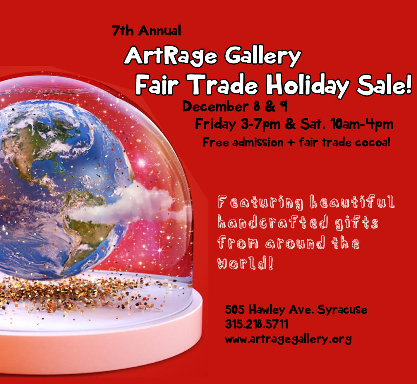 7th Annual Fair Trade Holiday Sale